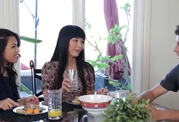 Asian stepmom together with say no to detach from stepdaughter gets a trine
