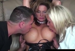 Role Play by Low-spirited Cat Piece of baggage Milf Deauxma Ends Not far from 3 Like one another Fuck!