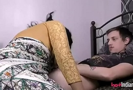 Indian Babe Lily At hand Her Cut corners Sucking Him Not present