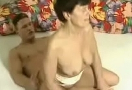 Grandma fucked hard by young gymnast