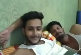 Indian Boys Having Recreation on the top of Cam