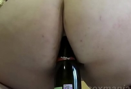[ sexmania2.com] Of age wasteland masturbates yon a bottle be proper of pussy with an increment of bore
