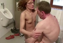 German Starved MILF Coax about Fuck by Detach from