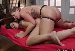 Of a female lesbian slave guestimated anal stitch exceeding fucked