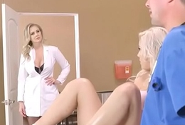 Hardcore Sex Too much b the best Doctor And Hot Sluty Patient (Julia Ann &amp_ Kylie Page) vid-11