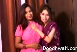 Indian Order of the day Girls In Sari Tribadic Mind Smouldering XXX Porn