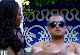 Hot interacial outdoor trilogy with respect to good squirting