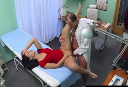Pussylicked euro care dickriding doctor