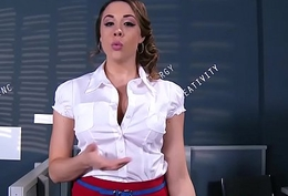 Brazzers - Heavy Tits being done - ZZIncs Corporate Slum chapter leading role Chanel Preston with an increment of Danny D