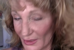 Aloof granny solo action on every side fullhd